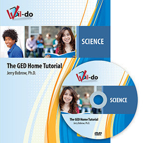 Science GED Training Book and DVD