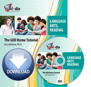 Online Language Arts, Reading GED Streaming Video Only