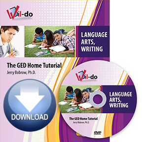 Online Language Arts, Writing GED Streaming Video Only