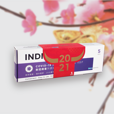 INDICAID COVID-19 Rapid Antigen Test - New Year's Special