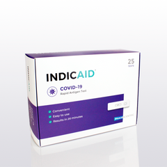 INDICAID<sup>®</sup> COVID-19 Rapid Antigen Test (25 kits)