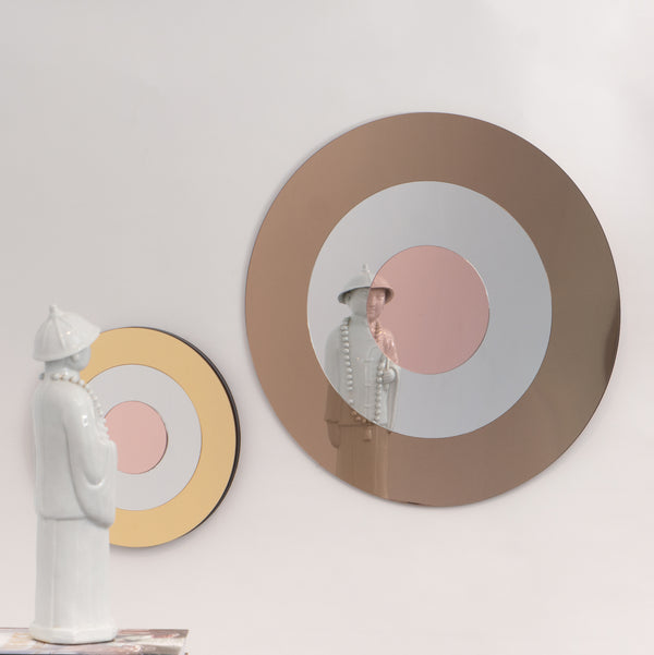 TARGET small - gold+silver+pink