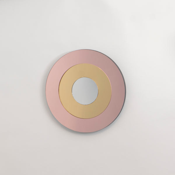 TARGET small - pink+gold+silver