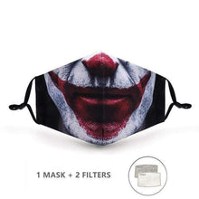 Load image into Gallery viewer, Nature Style Face Mask with Replaceable PM 2.5 Charcoal Filter