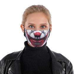 Moustache Mask with Replaceable PM 2.5 Charcoal Filter