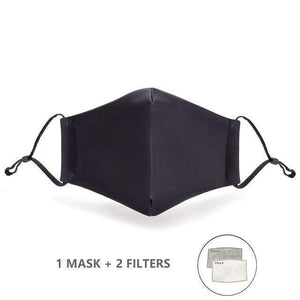 Flowers Face Mask with Replaceable PM 2.5 Charcoal Filter