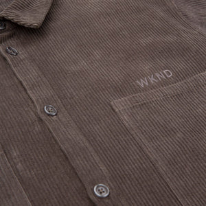 WKND Cord Button Up