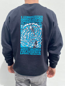 Men's Lighthouse Crewneck Skeleton