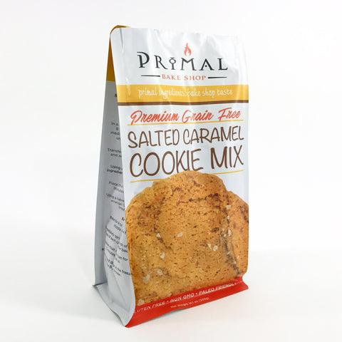 Premium Grain-Free Salted Caramel Cookie Mix