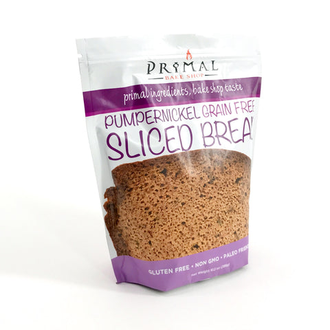 Pumpernickel Sliced Bread