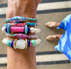 Trio Stack Bracelet Set by Twine and Twig