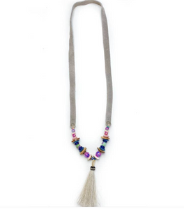 Slim Horse Hair Necklace by Twine and Twig