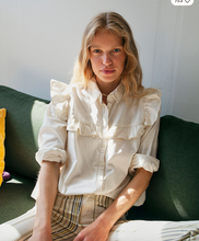 Load image into Gallery viewer, Samantha Ruffle Buttondown by Free People