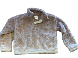 Ombre Sherpa Pullover