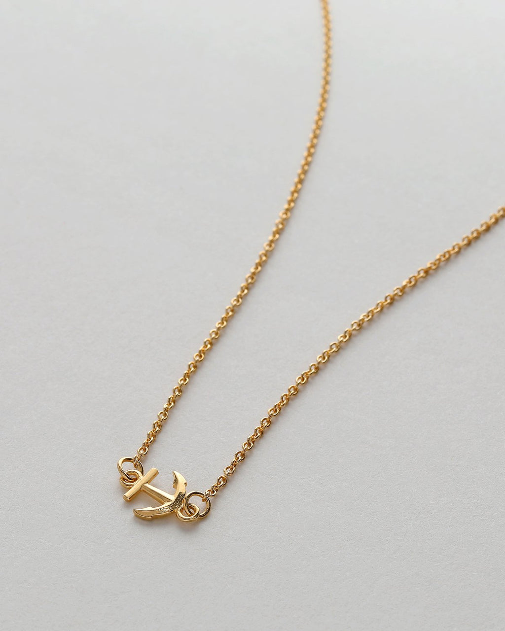 My Anchor Necklace - 14k Gold