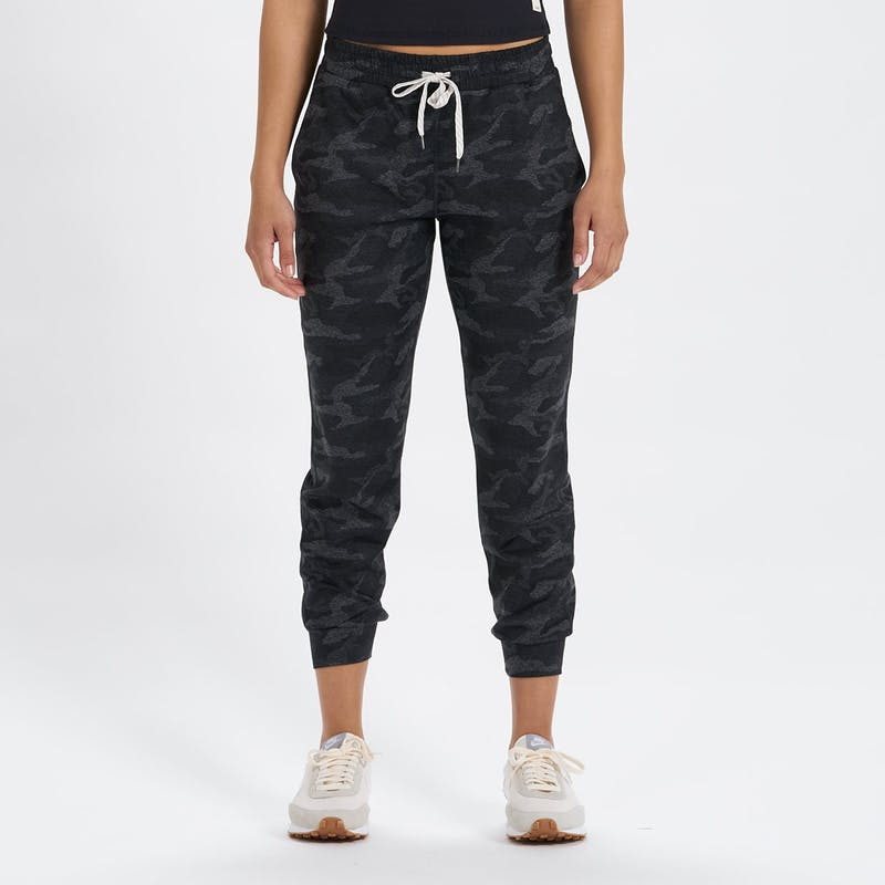 Black Camo Performance Joggers