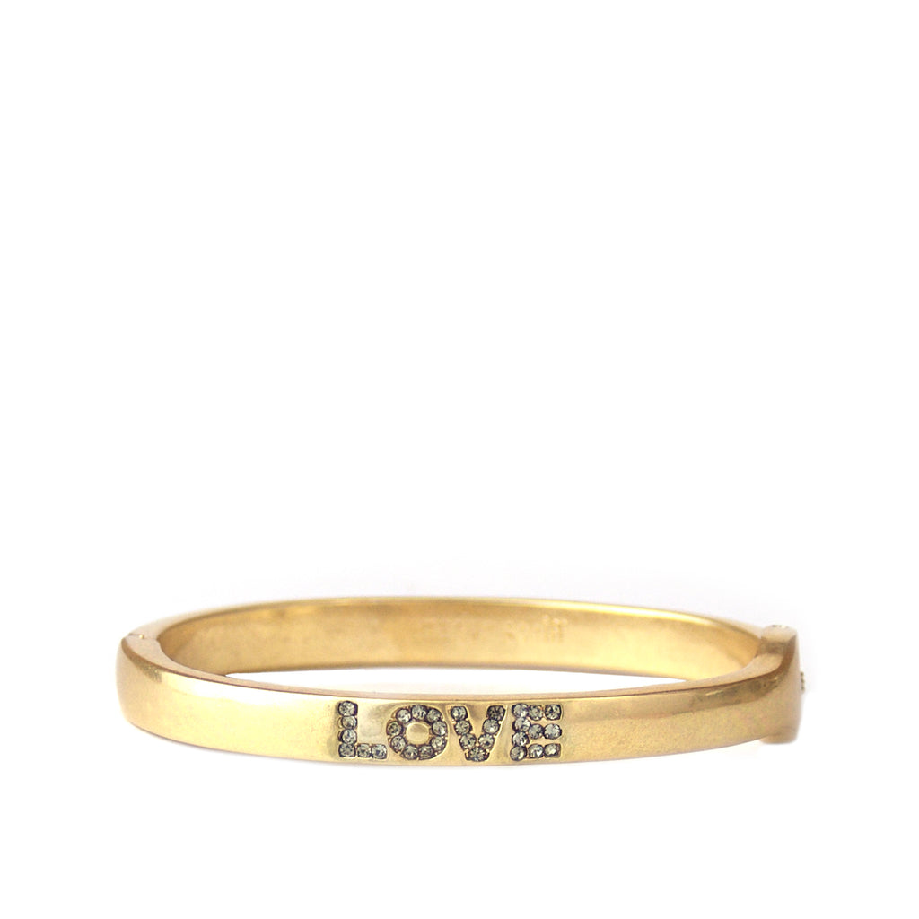 Pave Love Bangle