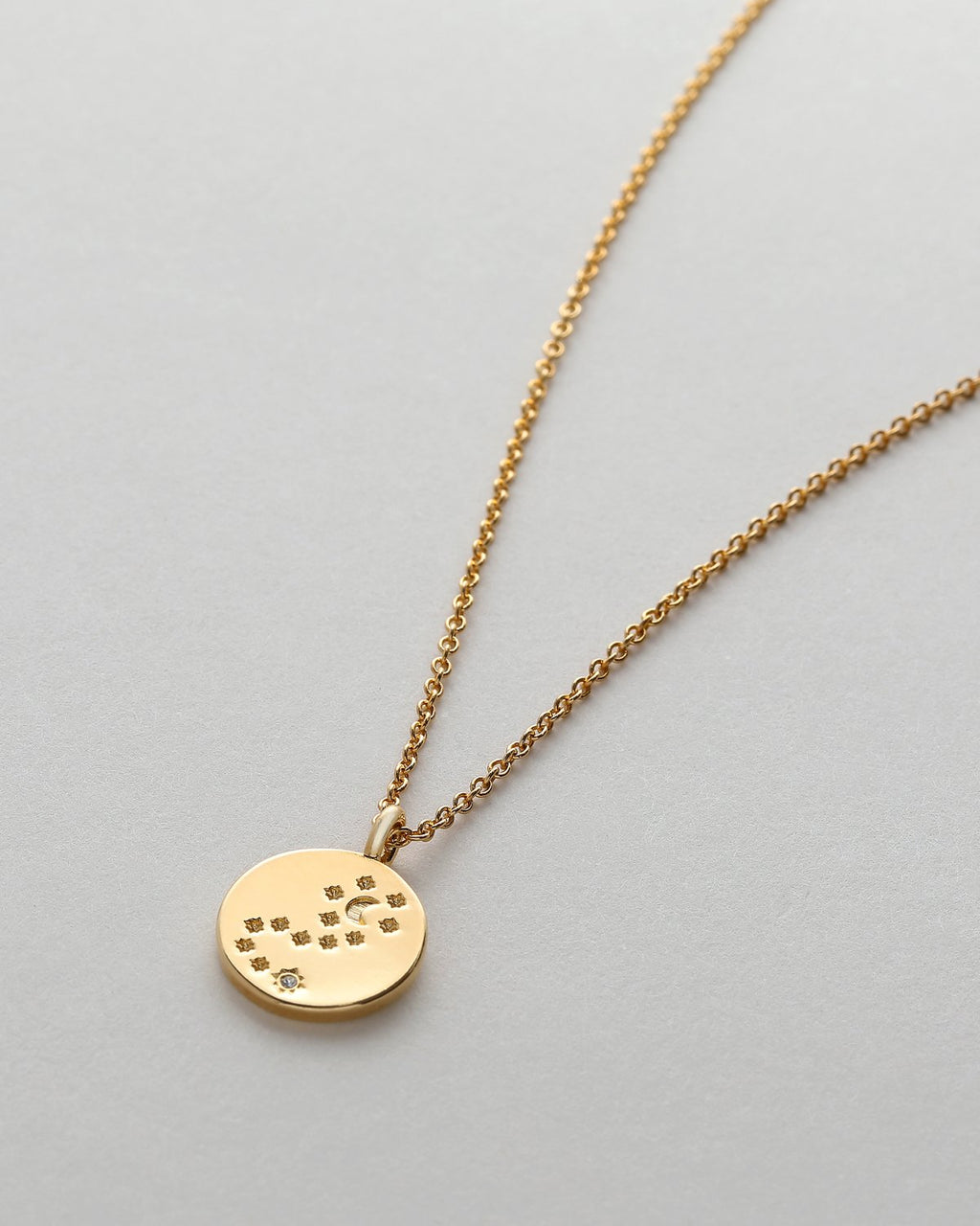 To The Moon & Back Necklace - 14k Gold