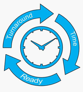Our turnaround time for services