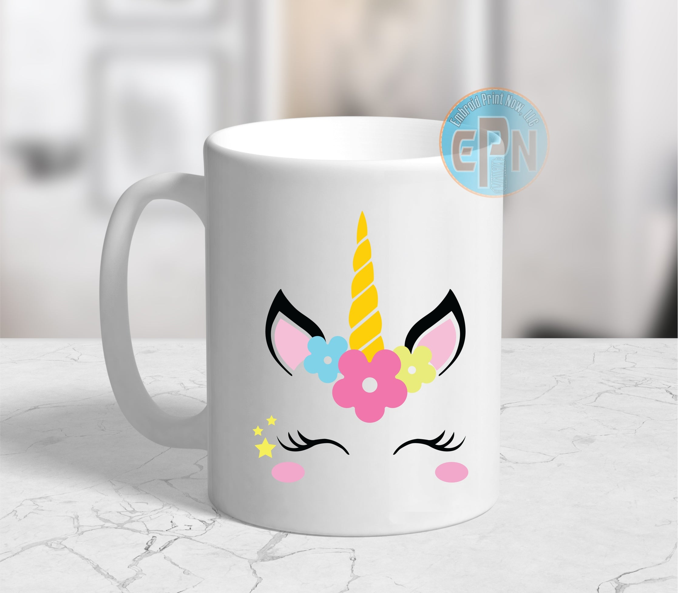Bella Unicorn Mug