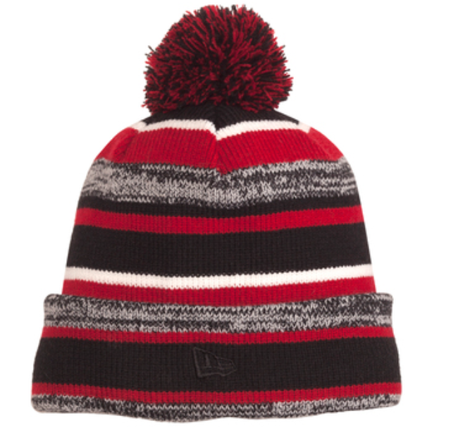 New Era Scarlet Sideline Embroidered Beanie