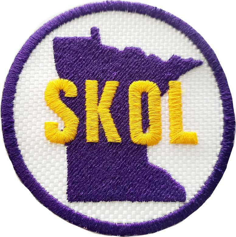 MN Skol round Patch