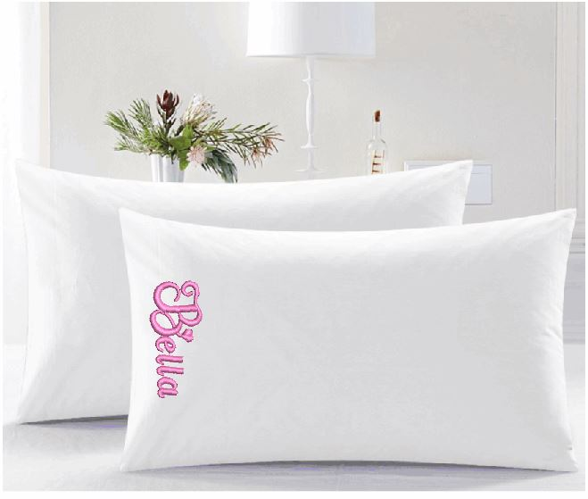 Monogramed Pillow cases