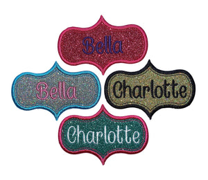 "Your Name Here 4."" X 2.75"" Name  Patch"