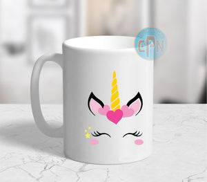 Cute Unicorn Mug