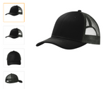 trucker hat black