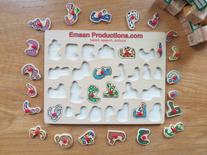 Emaan Productions : Alphabet Board