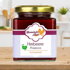 Himbeere Prosecco Fruchtaufstrich