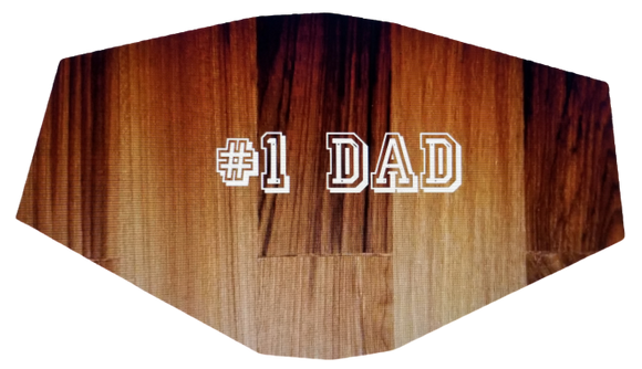 #1 Dad Face Cover (Adult)
