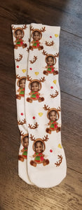 Custom Christmas Socks (Child Size)