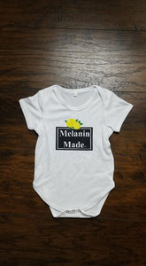 Melanin Made Baby Body Suit