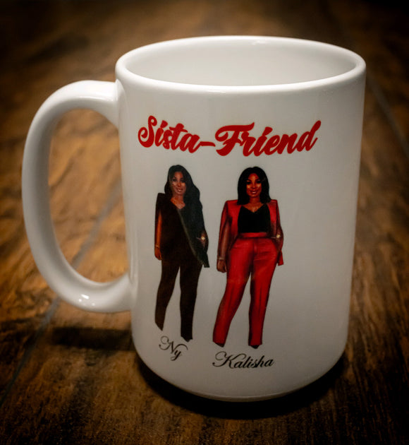 Custom Sister/Friend Mug (with personalized message)