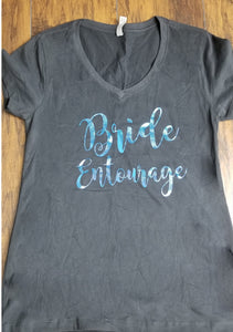 Bride Entourage Shirt