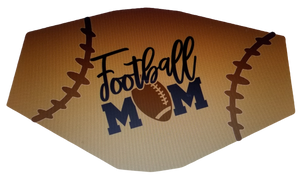 Football Mom Face Cover (Adult)