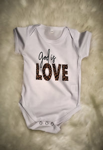 God Is Love Bodysuit