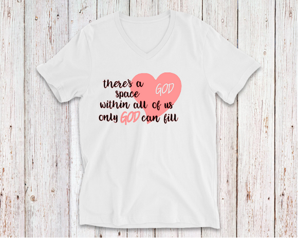SPACE WITH ALL OF US TSHIRT