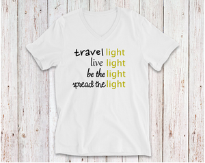 TRAVEL LIGHT TSHIRT