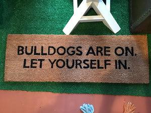"""Bulldogs are on"" doormat"