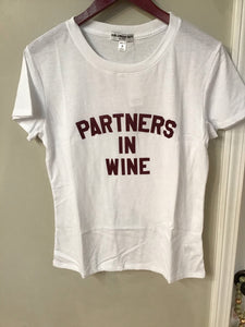 White Partners In Wine Top
