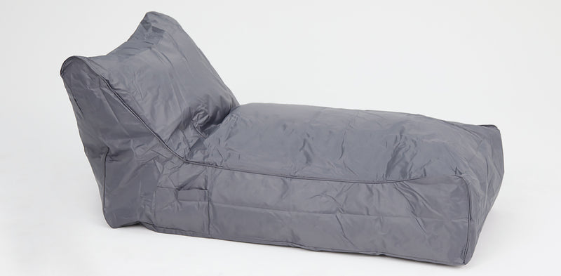 Laid Back Outdoor Beanbag Light Grey