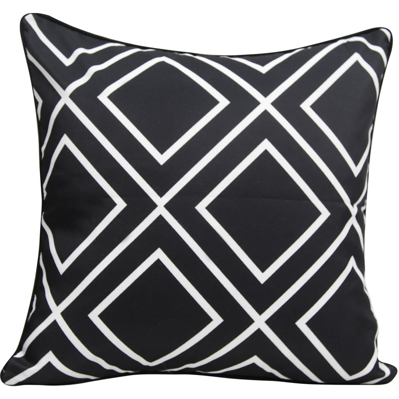 Black Diamond cushion cover