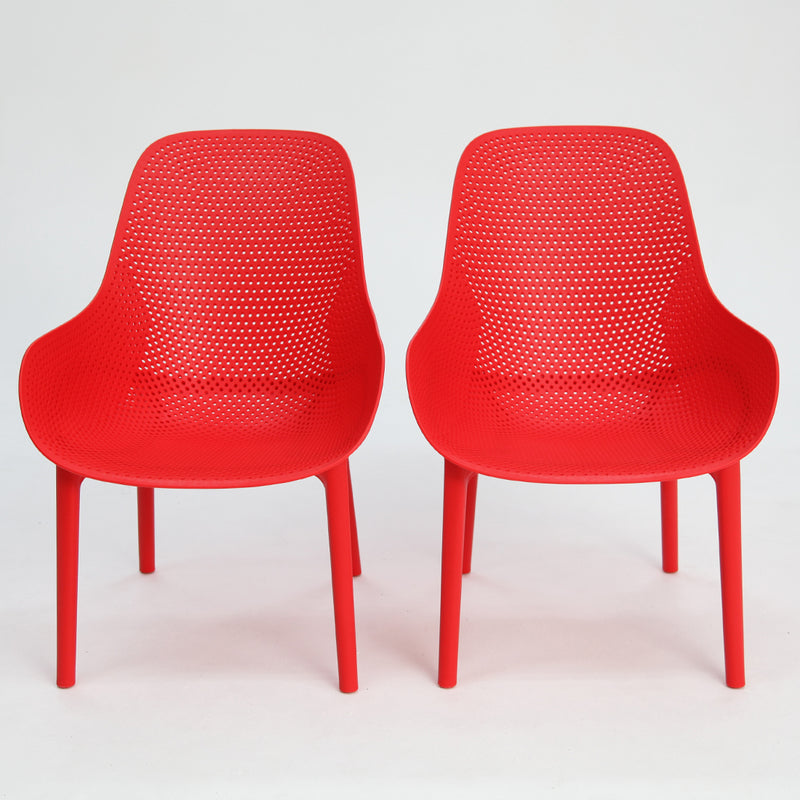 California Chair Red x2
