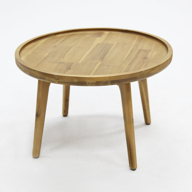 Melfort 54cm Timber Side Table