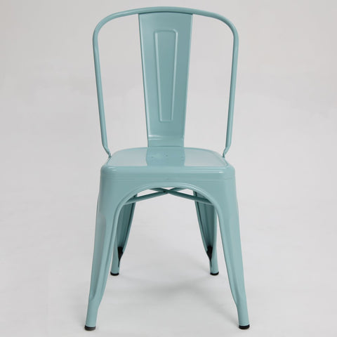 Paris Tolix Chair Mint
