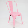 Paris Tolix Chair Pink