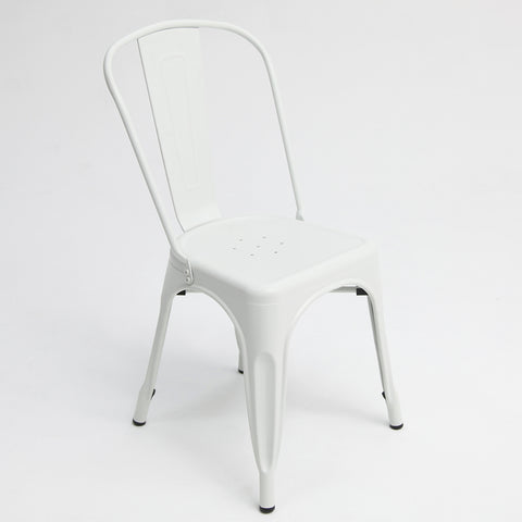 Paris Tolix Chair White